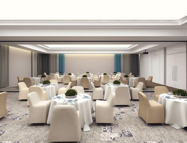Wizualizacja nowej sali bankietowej