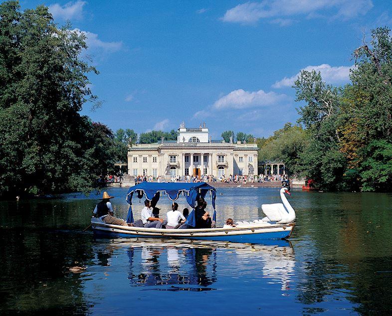 Łazienki - najpiękniejszy Park w Warszawie